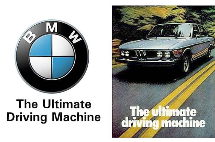 BMW「The Ultimate Driving Machine」
