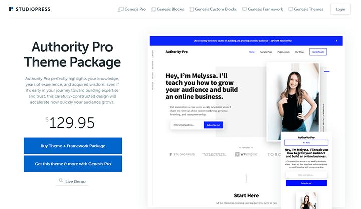 WordPressテーマ Authority Pro